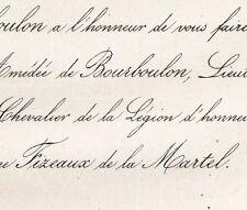 Amédée De Bourboulon 3e Hussards 1860 De Martineng