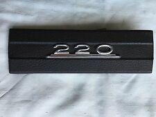 Radioschachtabdeckung Holz Radioblende Typenschild Mercedes 220 W115 W 115 /8