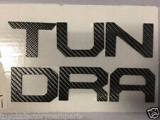 TOYOTA TUNDRA 2014-2015 CREWMAX TAILGATE LETTERING CARBON FIBER 00016-34059