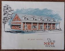 1960's Fold-out Advertising Brochure for Liberty National Bank in Fremont, Ohio