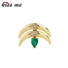 Kiss Me Asymmetric Trending Jewelry Fashion Stud Earrings for Women ed01327