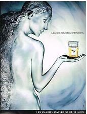 Publicité Advertising 1987 Parfum Tamango par Léonard