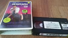 ONE MAN'S JUSTICE (ONE GOOD COP) - MICHAEL KEATON - CLAM SHELL 1991 VHS VIDEO