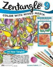 Zentangle 9 : Adding Beautiful Colors with Mixed Media by Suzanne McNeill...