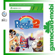 Xbox 360 Peggle 2 - Full Game Digital Download Code - Instant Send UK NEW