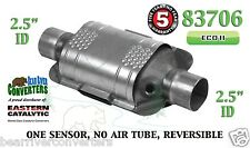 "Eastern Universal Catalytic Converter ECO II 2.5"" 2 1/2"" Pipe 10"" Body 83706"