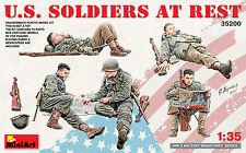 U.S. Soldiers at rest 1/35 MiniArt 35200