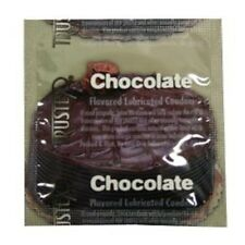 24 Trustex CHOCOLATE Flavors Flavored Lubricated Condoms
