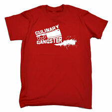 CULINARY GANGSTER MEAT CLEAVER T SHIRT JNR funny chef kitchen cook humor tee