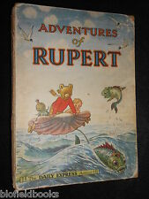 Rupert Annual 1950; Vintage Illustrated Children's Book - Rupert The Bear (1949)