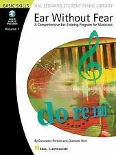 Ear Without Fear Bk/Online Audio Volume 1 Hal Leonard Student Piano Library So