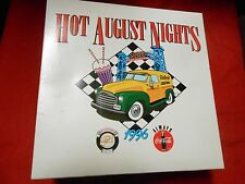 "NIB Great  COCA COLA 10th Anniversary ""Hot August Nights"" Glass & 2 Bottles.SALE"
