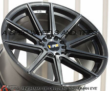 18X9.5 +38 F1R F27 5X114.3 GUN METAL WHEELS  Fits Lexus Is250 Is350 Gs300 Gs350