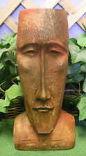 Easter Island Head Planter Urn Latex Fiberglass Production Mold Concrete Plaster