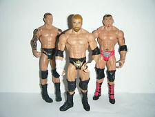 WWE EVOLUTION MATTEL BASIC BATISTA TRIPLE H RANDY ORTON SÉRIES FIGURINE LUTTE