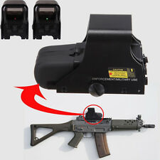 New Style Red Green Dot Tactical 551 Airsoft Scope Combat Sight Riflescope Stock