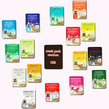 8pcs + 1 Freegift, Korean Moisture Face Mask Sheet Pack Skin care Essence Makeup