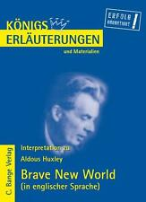 ALDOUS HUXLEY - BRAVE NEW WORLD. INTERPRETATION