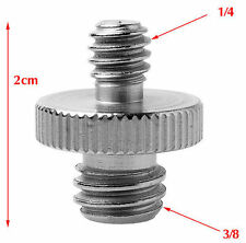 "1/4"" Male Threaded To 3/8"" Male Threaded Double Male Screw Adapter UK Seller"