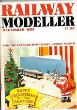 Railway Modeller Magazine - Dec 1989  Features Westerns - WR diesel-hydraulics