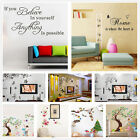 Bath Bedroom Living room Removable home decor wall art vinyl decal mural sticker
