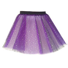 Adults SPARKLE TUTU MULTIPLE COLOURS FANCY DRESS COSTUME Hen Party TU-TU 12 INCH