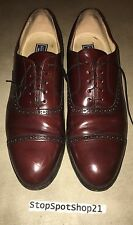 Bostonian Impression burgundy wingtip oxfords Men's 13 made in USA