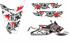 POLARIS RUSH PRO RMK  ASSAULT 120 144 155 163 STAR HOOD TUNNEL DECAL STICKER 1