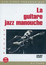 ROMANE LA GUITARE JAZZ MANOUCHE GUITAR Learn to Play MUSIC MUSIQUE DVD FRENCH