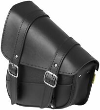 Willie & Max - 59776-00 - Revolution Universal Swingarm Saddlebag, Black`