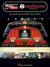 The Grand Ole Opry Songbook: E-Z Play Today Volume 214  Paperback