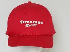 Firestone Racing Red Ball Cap Hat