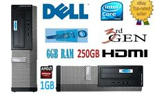 DELL Optiplex 3010 SFF Intel i5.3.20 ghz.3rd Gen, 3470.6gb 250. grafica HDMI .1gb