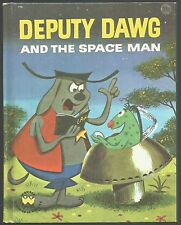 Vintage Children's Wonder Book DEPUTY DAWG and the Space Man