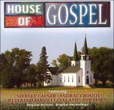 HOUSE OF GOSPEl by Various Artists; Shirley Caesar; Andrae Crouch; Rev Cleveland