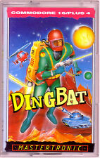Ding Bat (Mastertronic) Commodore 16 +4 - VGC & Complete