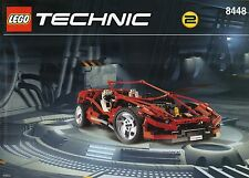 Lego Technic Model Traffic 8448 Super Street Sensation New Sealed Car Flagship
