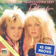 "DOLLIE DE LUXE "" QUEEN OF THE NIGHT/SATISFACTION "" 45 GIRI NUOVO 1986 CGD ITALY"