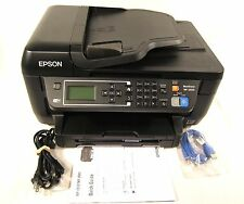 Epson Workforce WF-2650 All In One Color Photo Printer Copier Scanner Wireless
