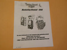 THE PRIZE ZONE MARKETING MANUAL    arcade  game manual