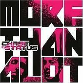 CHASE & AND STATUS - MORE THAN ALOT / A LOT CD ALBUM BRAND NEW