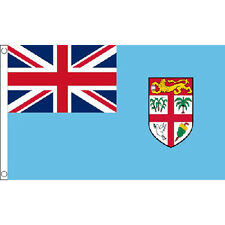 Fiji Flag 5Ft X 3Ft Fijian Islands Country Banner With 2 Metal Eyelets New