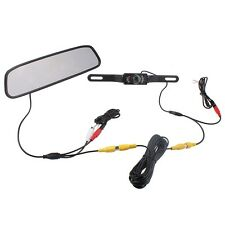 "4.3"" TFT Screen Car LCD Rear View Rearview DVD Mirror Monitor with Backup Camera"