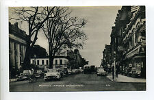 Lawrence MA Mass Broadway street view, old cars, people, signs, 1960's?