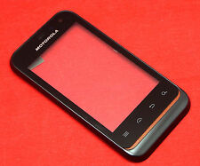 ORIGINALE Motorola Defy Mini xt320 TOUCHSCREEN DIGITIZER VETRO DISPLAY CON CORNICE