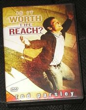 Is It Worth The Reach? by Rod Parsley Christian Teaching Faith 2 DVD Set Jesus