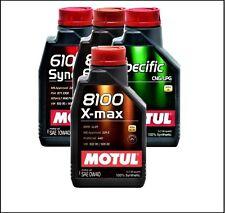 1liter 1ltr. Motul 8100 X-max Motorenöl 0W-40 Motoröl, Öl Vollsynthetisch LL01