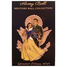 Snow White Military Ball Disney Fantasy Pin - Army Pin
