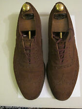 Church's  Shoes. Vintage.  Brown. New buck Brogue shoes . size 9.5. + Shoe trees