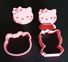 hello kitty cookie cutter mold with stamps